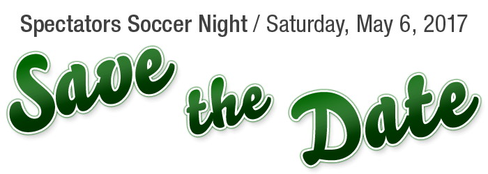 save the date: soccer night 2017